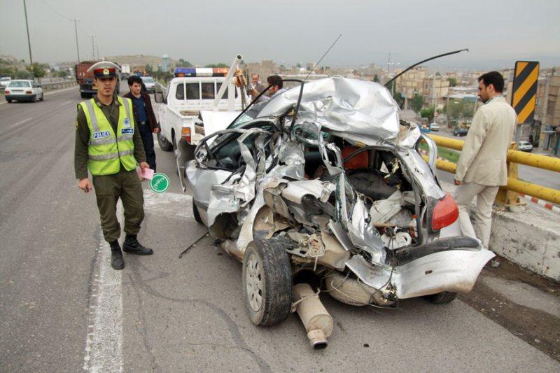 مرگ هرساعت یک نفر در تصادفات جادهای نوروز