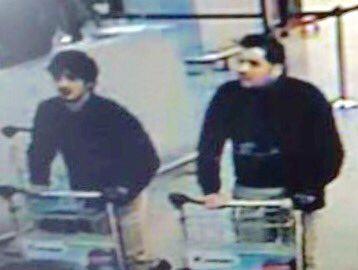 دو مظنون بمب گذاری بروکسل(عکس)