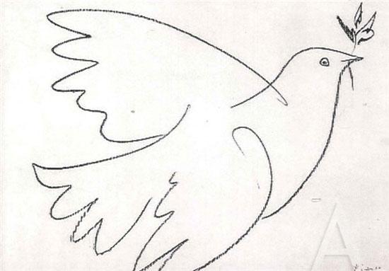 نخستین کسی که نماد صلح را نقاشی کرد (+عکس)