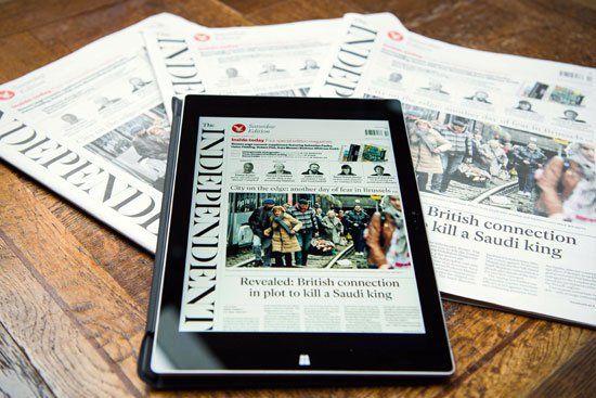 پایان چاپ کاغذی روزنامه ایندیپندنت انگلیس / ادامه حیات فقط دیجیتالی