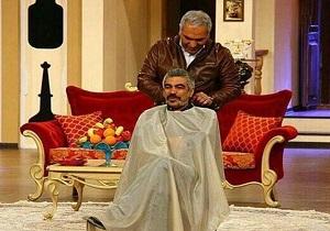 مهران مدیری سبیلهای سروش صحت را زد! (+عکس)