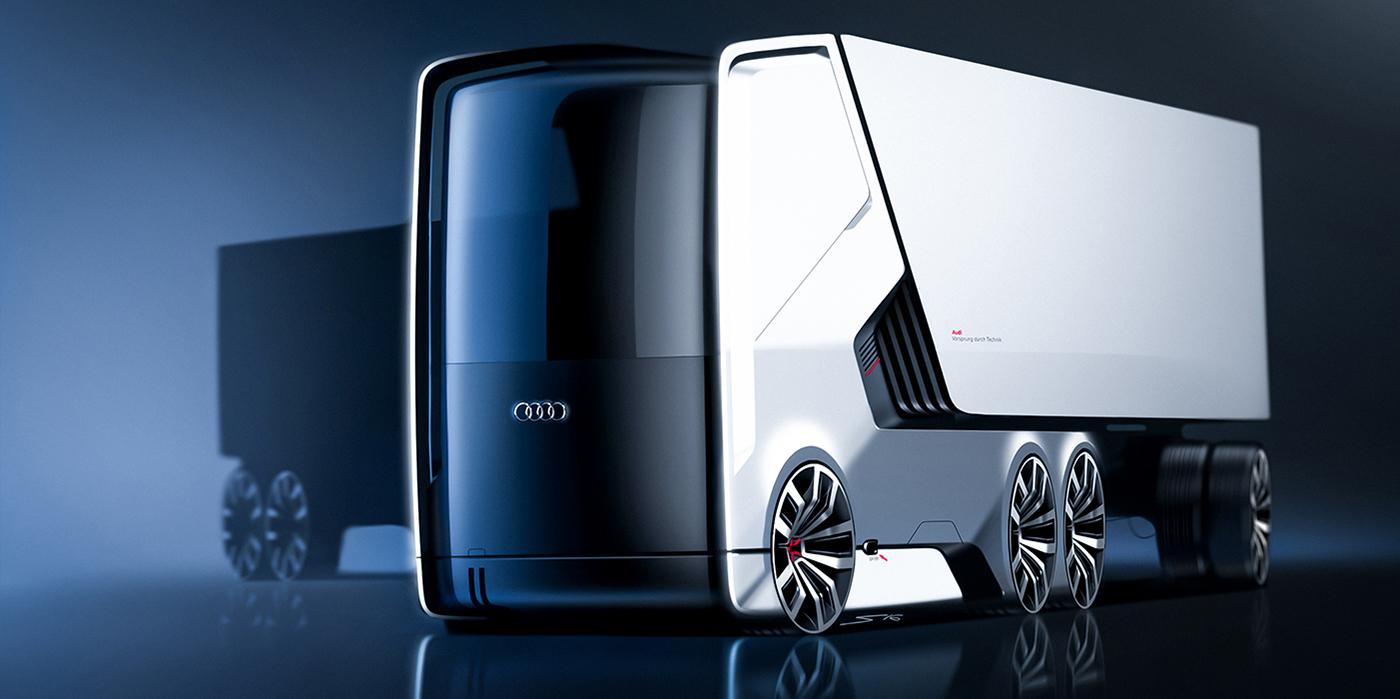 آیا کامیونهای الکتریکی آئودی ساخته میشوند؟