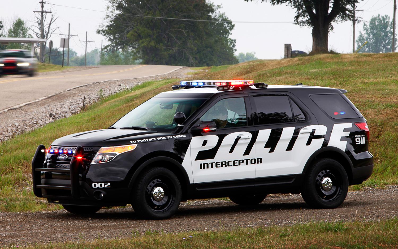 ماشین های پلیس آمریکای شمالی شاسی بلند می شوند