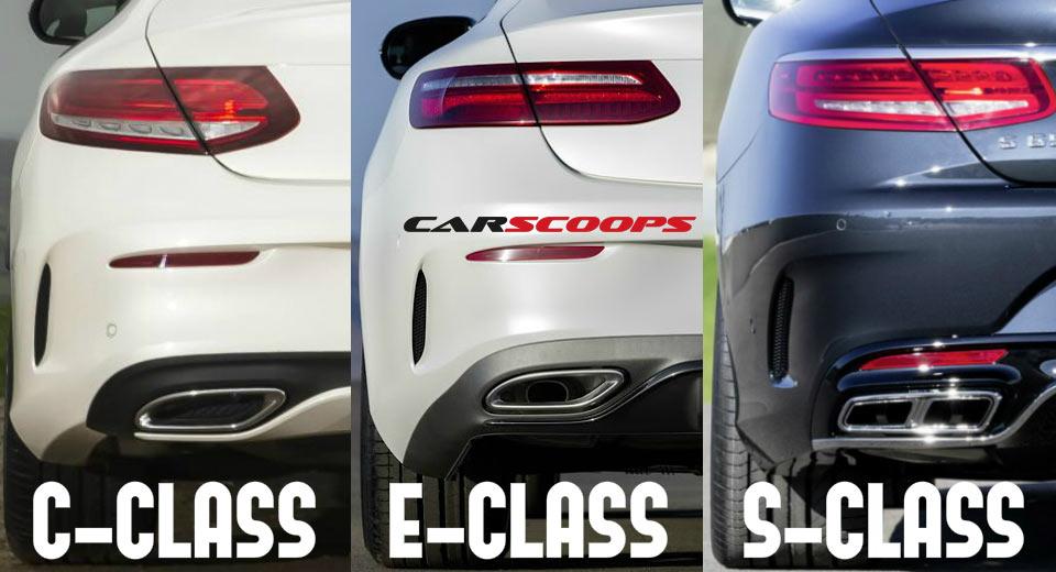 تفاوت سه کوپه بنز در قاب تصویر