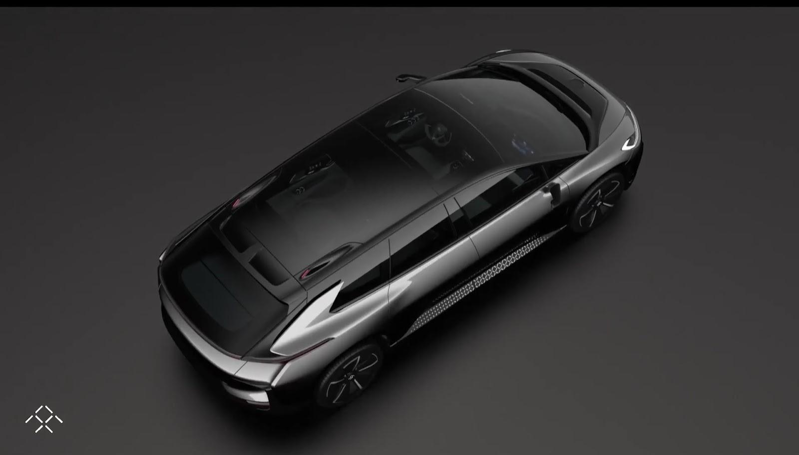 خودروی الکتریکی 1050 اسببخاری فارادی فیوچر