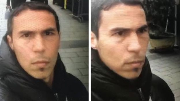 کتک خوردن مرد شبیه به تروریست عامل حمله استانبول (+عکس)
