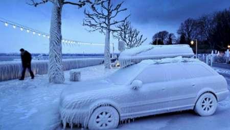سرمای قطبی در مسکو/ روسیه سردترین شب در 120 سال گذشته را تجربه کرد