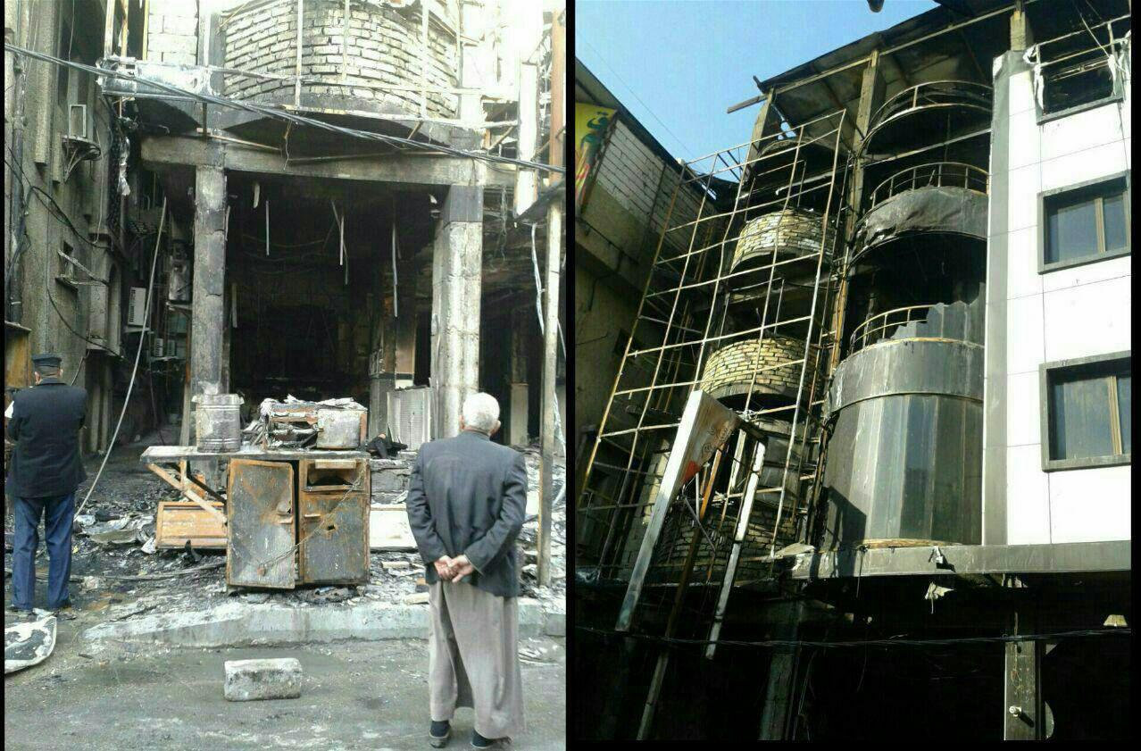 آتش سوزی در هتل زائران ایرانی در کربلا / 5 کشته و 2 مجروح