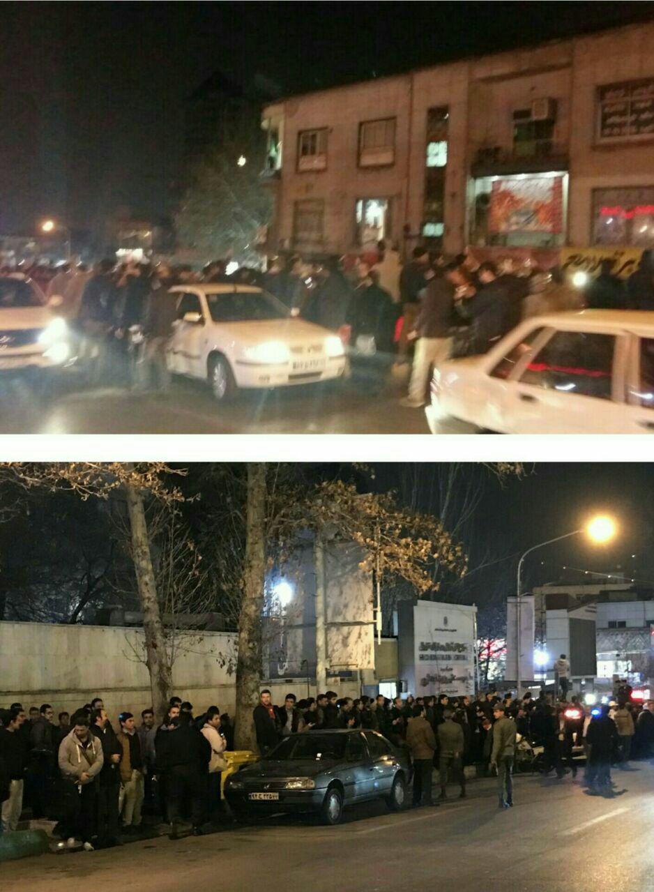 حال و هوای بیمارستان شهدای تجریش با اعلام خبر درگذشت آیت الله هاشمی رفسنجانی