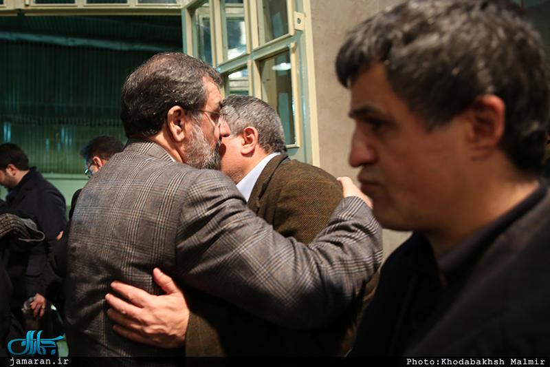 حضور مقامات عالی رتبه در حسینیه جماران (+عکس)