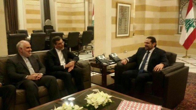 رایزنی معاون ظریف با سعد حریری درباره تحولات منطقه و لبنان