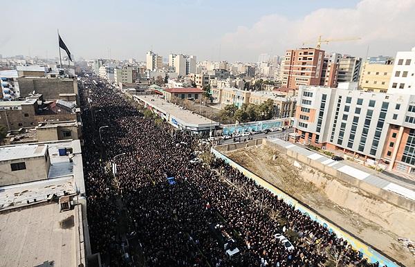 2.5 میلیون نفر در تشییع آیت الله هاشمی