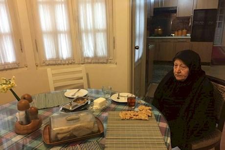 همسر هاشمی در اولین صبحانه بدون او