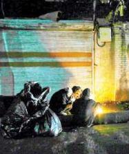شبِ فقيرِ تهران / پرسه چندساعته در خیابان ولیعصر
