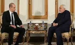 دیدار وزیر امور خارجه گرجستان با ظریف