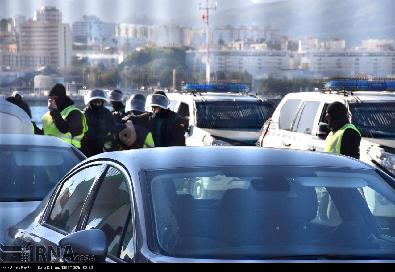 دستگیری مظنون به همکاری با داعش در اسپانیا (عکس)