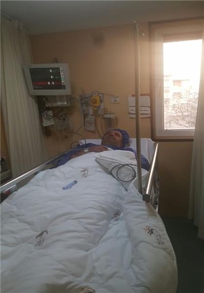 «کاظم جلالی» در بیمارستان بستری شد