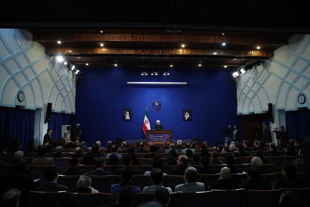 نشست خبری رئیس جمهور:  اثبات کردیم که نظام ایران راستگو است