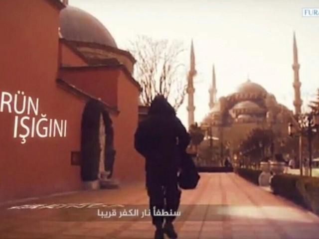 ویدیوی داعش از خیابانهای استانبول