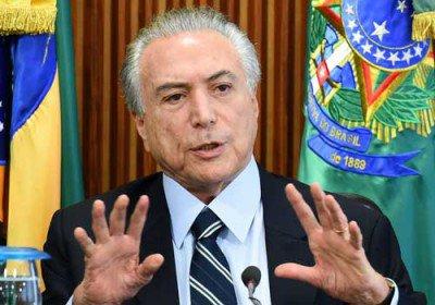 رییس جمهور برزیل از کنارهگیری امتناع کرد