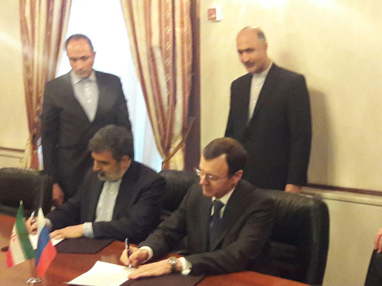 امضای 2 سند همکاری هسته ای ایران و روسیه