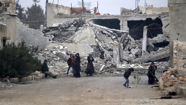 کشف گورهای دستهجمعی در محلههای شرقی حلب