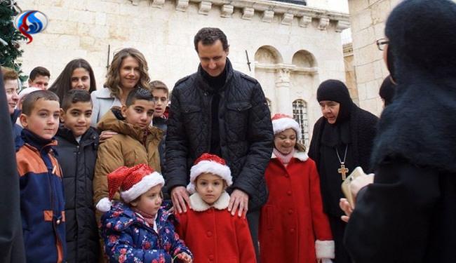 کاپشن قدیمی بشار اسد خبرساز شد (+عکس)