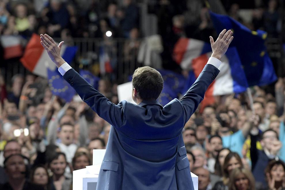 ماکرون سرباز ترامپ در فرانسه