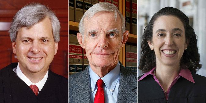 سه قاضی که روی فرمان ترامپ جکم خواهند داد (+عکس)
