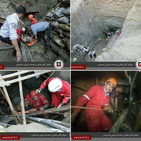مرگ 5 کارگر در انفجار پروژه آبگرم میناب