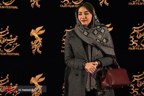 هانیه توسلی در کاخ جشنواره فیلم فجر (+ عکس)