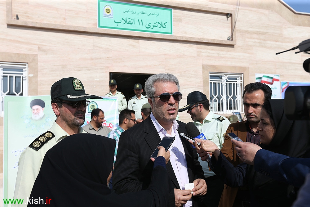 2 کلانتری در کیش افتتاح شد