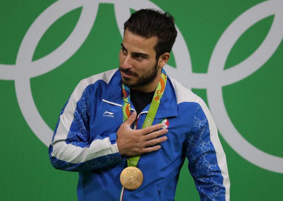 کیانوش رستمی طلای المپیک را به سردار سلیمانی اهدا کرد