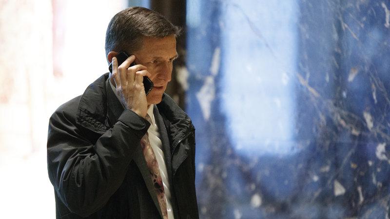 اعلام استعفای مشاور امنیت ملی ترامپ به دلیل ارتباطات پنهانی با روسیه