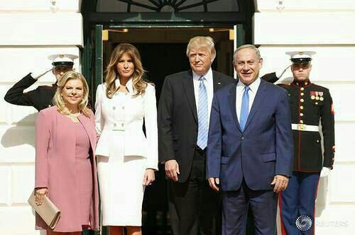 نتانیاهو: ظریف می گوید موشک های ما علیه کسی نیست بعد به عبری روی آن می نویسند که اسرائیل باید نابود شود/ ترامپ: اجازه نمی دهیم ایران به بمب اتمی دست یابد؛ برجام خیلی بد بود
