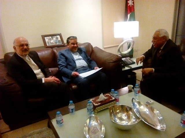 دیدار سفیر ایران در اردن با شهردار امان