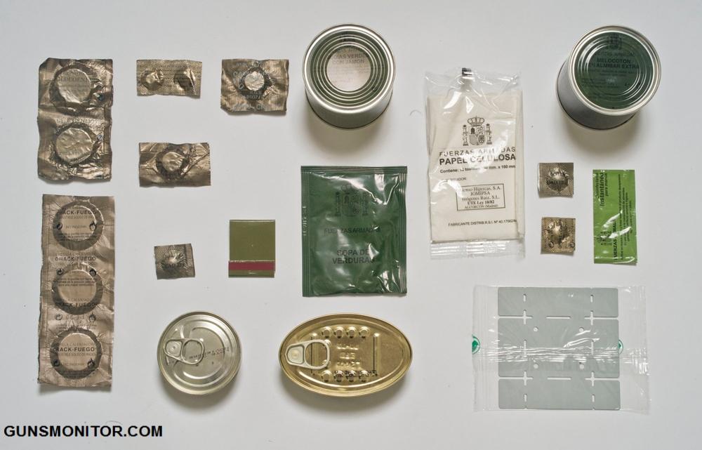 نگاه عکاسان گاردین به جیره غذایی ارتش های مختلف!