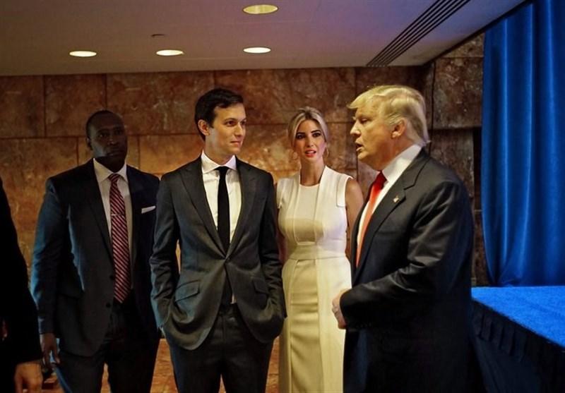 شیطنت نوه ترامپ در کاخ سفید (+عکس)