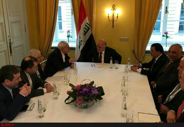 نخستوزیر عراق با ظریف دیدار کرد