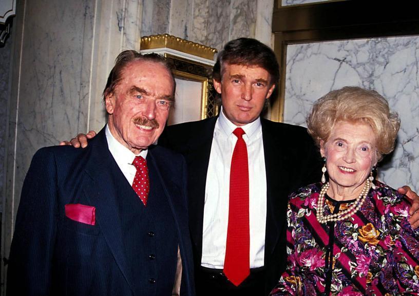 پدر و مادر ترامپ