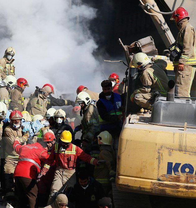 دانشگاه تهران آماده آیین تشییع پیکر آتشنشانان شهید پلاسکو