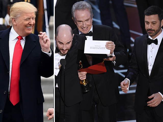 متلک ترامپ به اسکار: ان قدر سیاسی شدید که گاف دادید