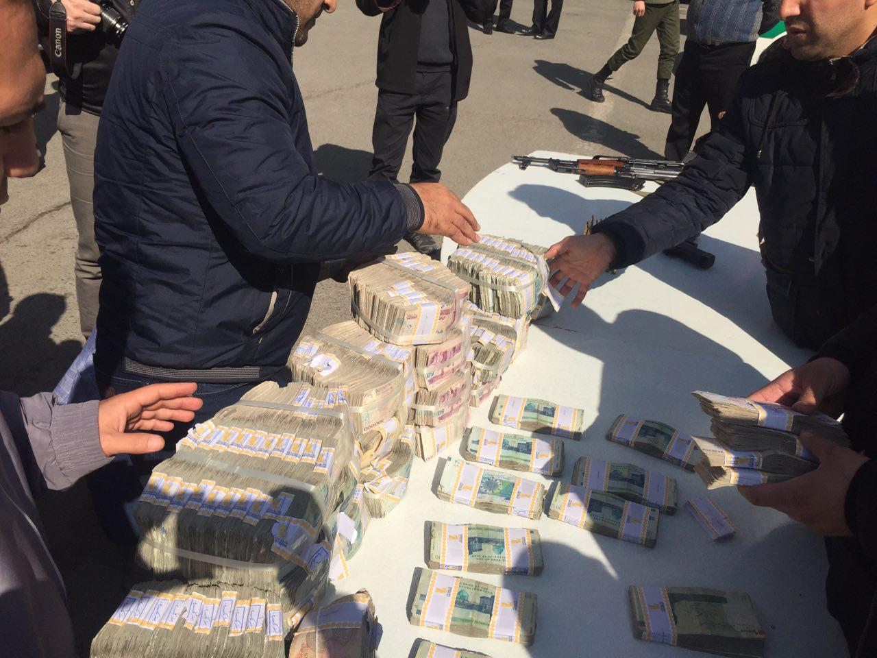 سارقان خودروی حمل پول بانک پاسارگاد دستگیر شدند/ یک زن در میان سارقان (+عکس)