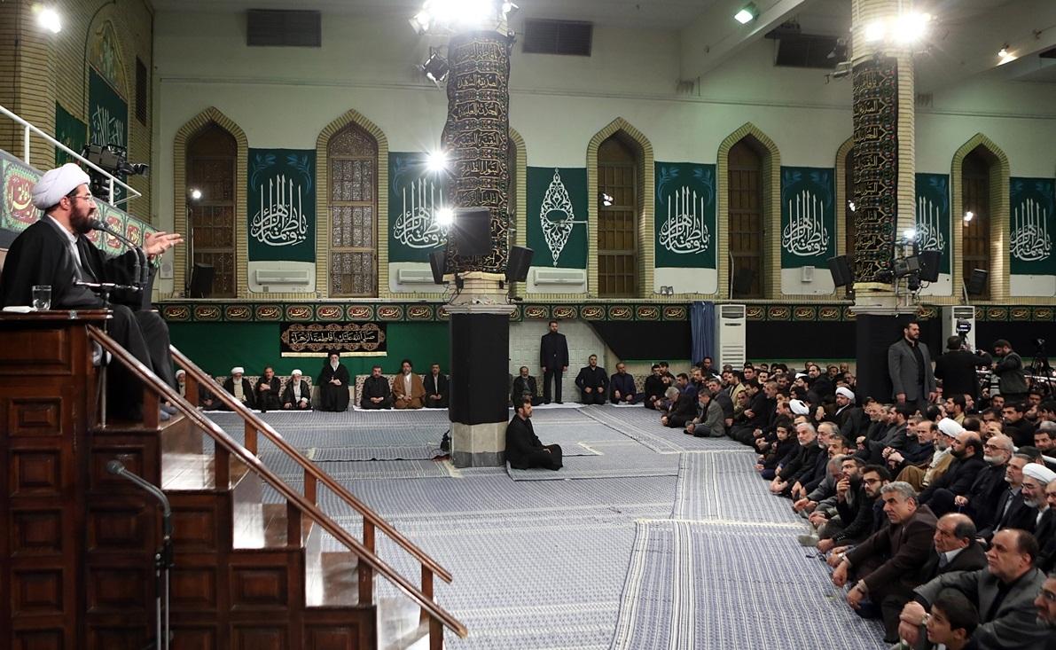 شب سوم عزاداری شهادت حضرت فاطمه (س) در حسینیه امام