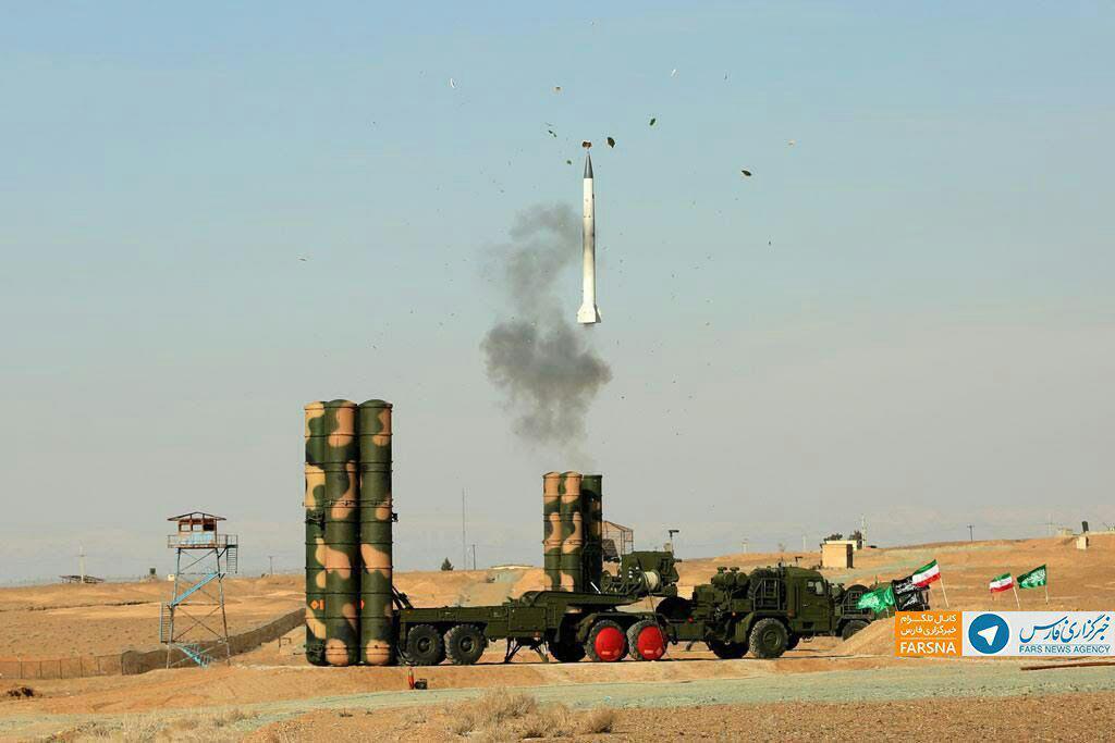 سامانه موشكي S۳۰۰ ايران با موفقيت تست شد