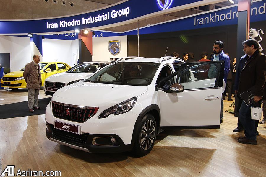 اولین پژو 2008 ایران خودرو تولید شد(+عکس)