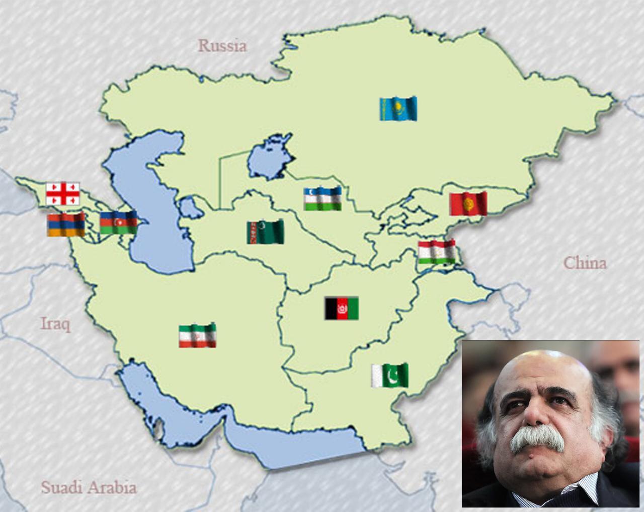 میرجلال الدین کزازی: همه یاریگر اندیشه بنیان گذاری اتحادیه کشورهای وارث تمدن ایرانی باشیم