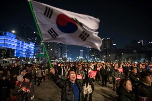 تظاهرات دوباره در کره جنوبی علیه رئیس جمهور این کشور