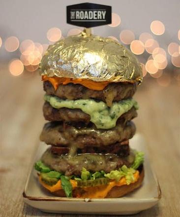 همبرگر طلای پسر حاکم دبی (عکس)