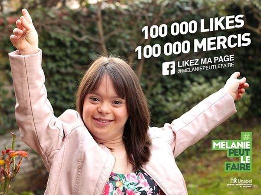 فیسبوک آرزوی دختر مبتلا به سندرم داون را برآورده کرد